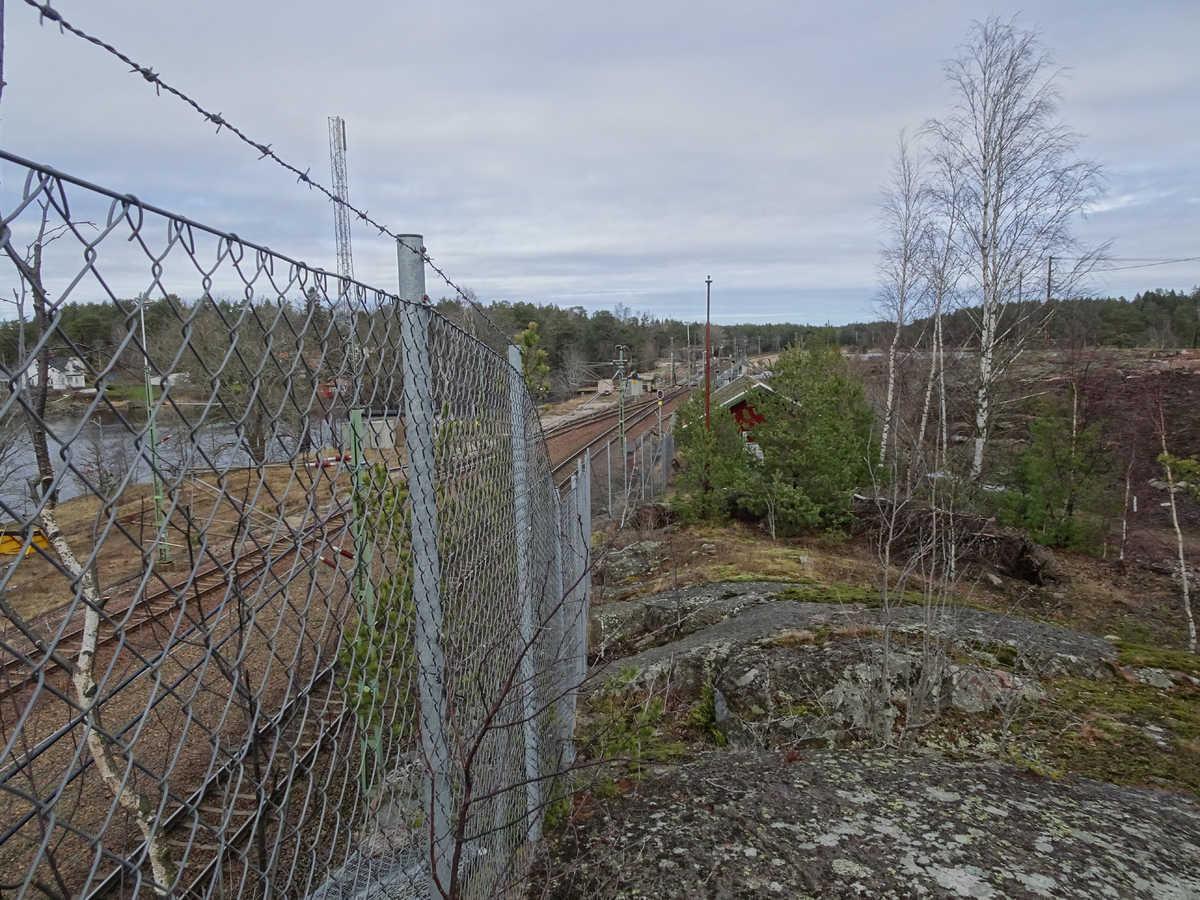 Köpmannebro-järnvägsbilder