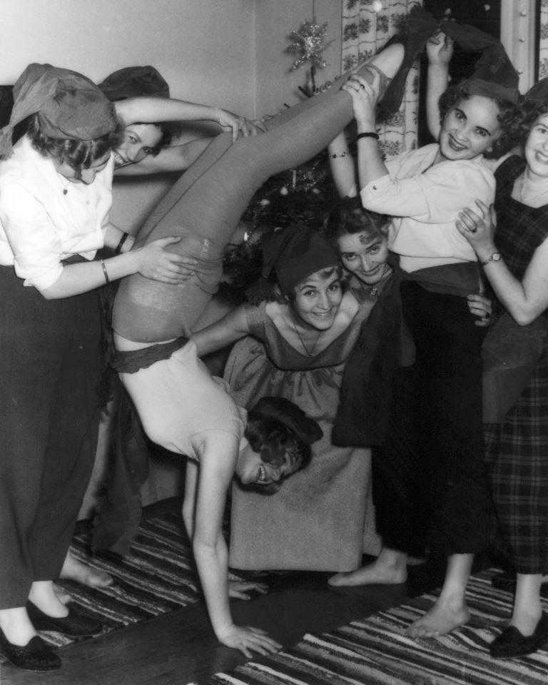 Julafton 1957.