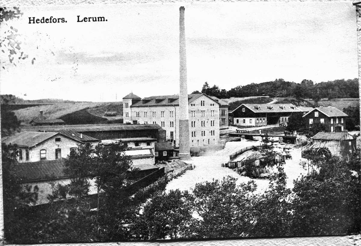 Hedefors fabriker