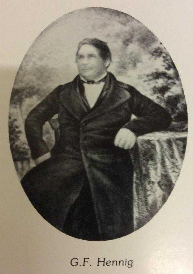 Wendelsberg Gustaf Ferdinand Hennig