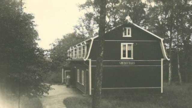 Smedjenääs, Nääs slöjdlärarseminarium, August Abrahamsons stiftelse,