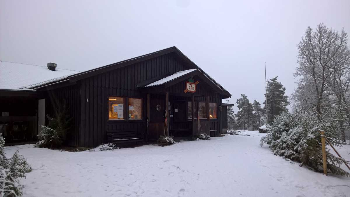 TSOKs klubbstuga i Trollhättan
