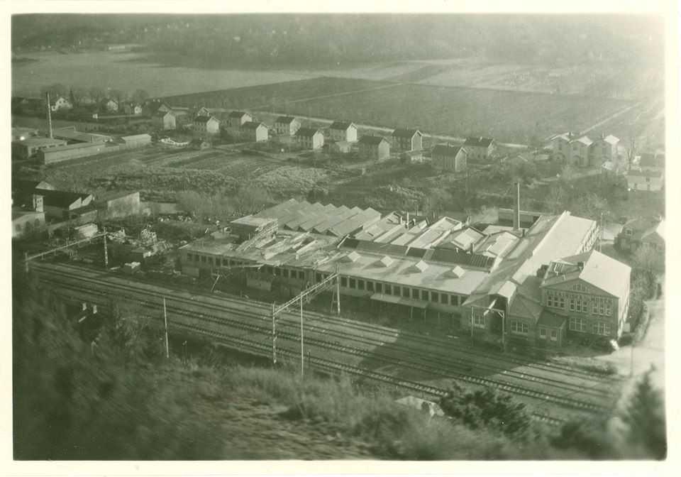 Elektrisk Industri i Partille 1907-1965. Eck, Moréns, ASEA