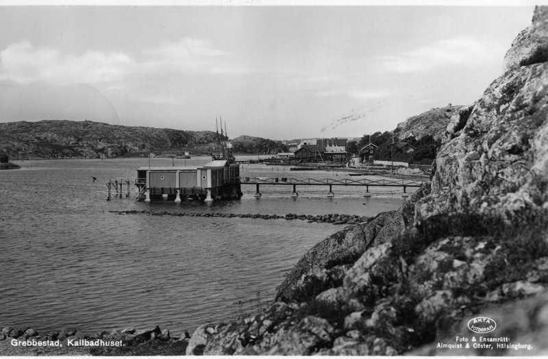 Kallbadhus och varmbadhus i Grebbestad