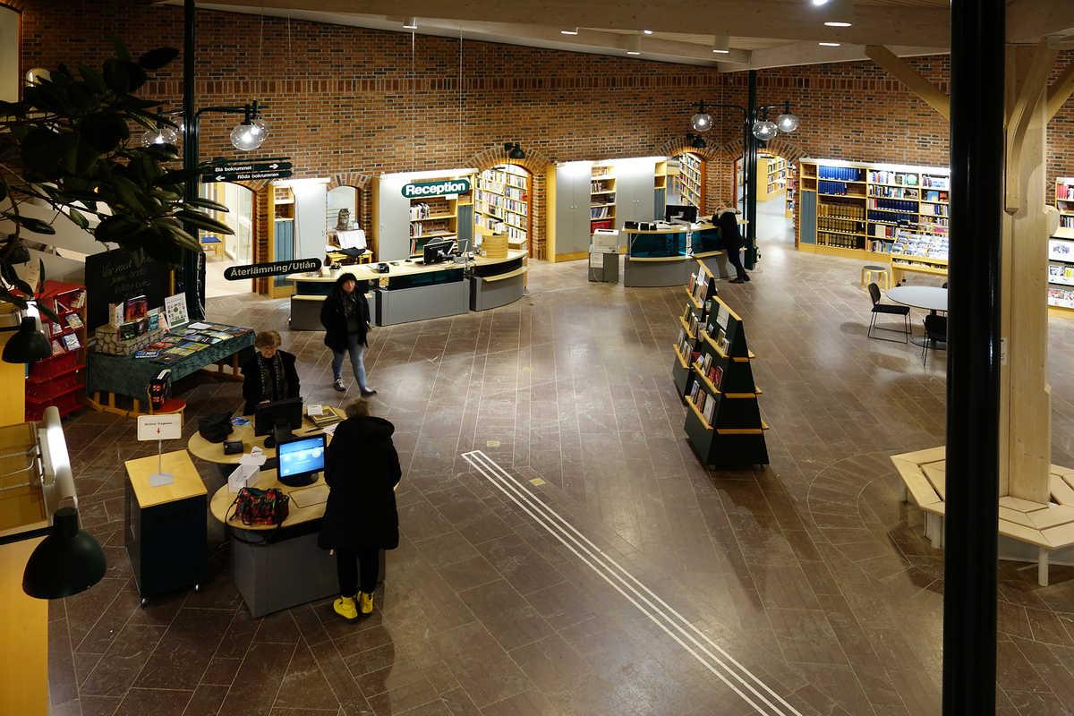 Biblioteket i Skara