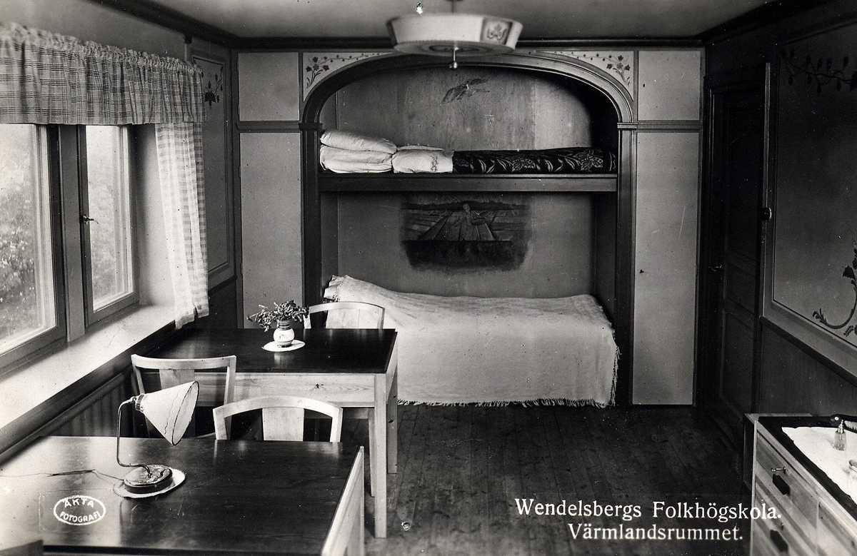 Wendelsberg - övervåningen