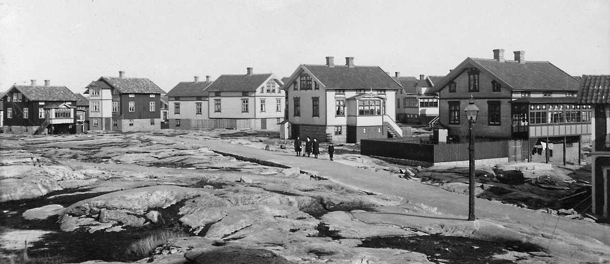 Storgatan i Smögen på 1910-talet