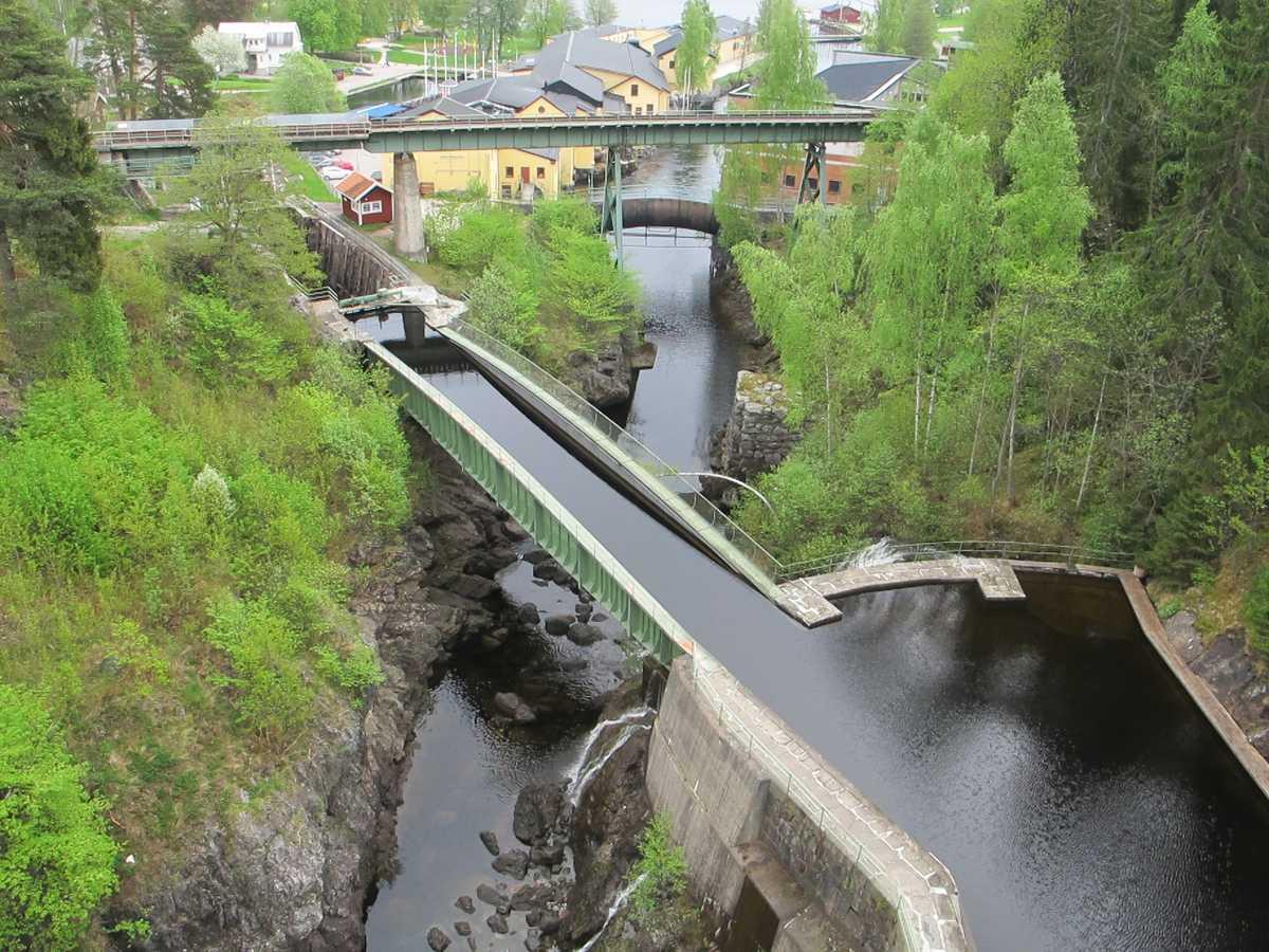 Håveruds kanal och viadukt 2013