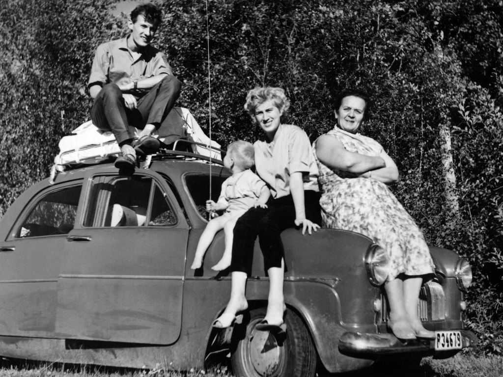 Semesterresa till Finland, 1961.