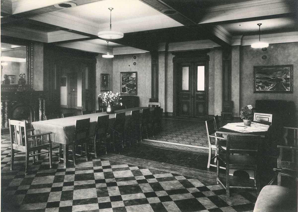 Wendelsberg, första våningen