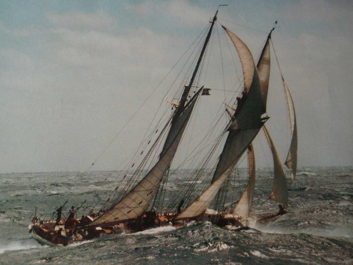 Kappsegling med HMS Falken