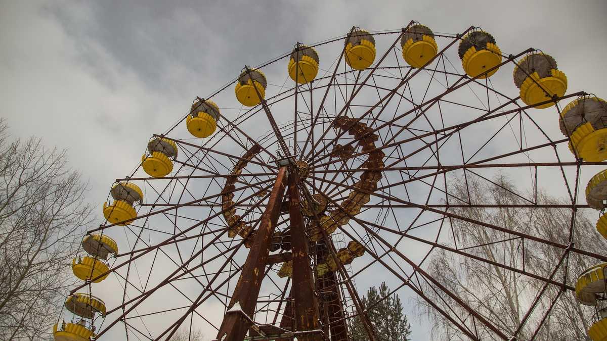 Pariserhjulet i Pripyat