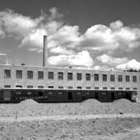 Skara. Mejeri under uppbyggnad 1951..jpg