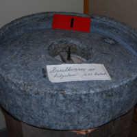 Täljstenskvarn från 1600-talet