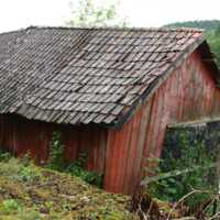 Lagerbyggnaden vid Göta älv