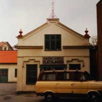 Grönlunds Plåtslageri  på Marumsgatan 16, låg på parkeringen bakom Willy´s