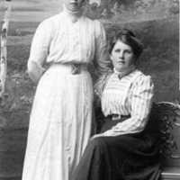 Storebacken Västerplana, Gerda (Gertrud),  Hildur Lundberg