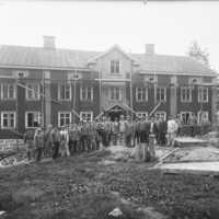 Huset Brackås byggs om till barnkrubba 1919