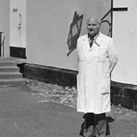 Professor Gustaf Björk vid avskedet från sin tjänst maj 1986..jpg