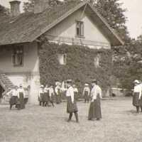 Mellannäs, Nääs slöjdlärarseminarium, ca 1900
