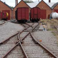 järnvägen Skara