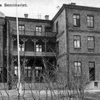 Skara, Surbrunnsgatan, Lilla Seminariet (småskoleseminarie). Numera bostäder..jpg
