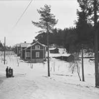 Arbetarbostäder i Dalsjöfors. 1914