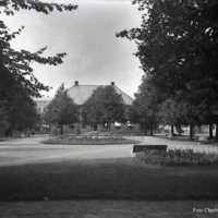 Vågmästaregården i Åmål omkring år 1900