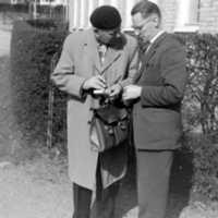 Lars Nilsson och Ingvar Olsgaard 1958-60.jpg