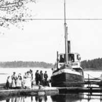 Ångbåt i Upperud