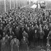 Anställda vid järnvägsverkstaden i Åmål