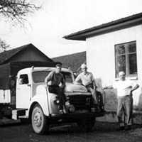 Råbäcks mejeri. Gunnar Skog, Ingvar Persson och Sven Surén.jpg