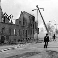 Teaterhuset som gick upp i rök