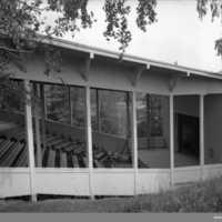 Teaterscenen Munkedals Folkpark 1935