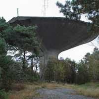 Vattentornet i Bergsjön 1999.
