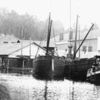 Fraktfartyg i Långed