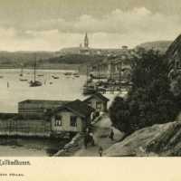 Kallbadhuset i Grebbestad 1850