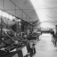 AB Vulcans tändsticksfabrik i Tidaholm