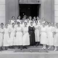 Examen vid Skara folkskoleseminarium. 1920.jpg