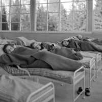 Barnavdelningen sängar