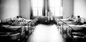 Sjukrummet K 3, Skövde 1906